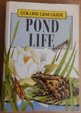 Gem Guide to Pond Life (Collins Gems) by Manuel, Richard Paperback Book The