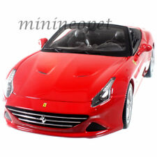 BBURAGO 18-16007 FERRARI CALIFORNIA T OPEN TOP 1/18 DIECAST CAR RED