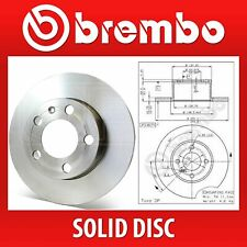 Brembo Front Pair Solid Brake Discs 08.3288.20 - Fits BMW 3 (E21), 3 (E30)