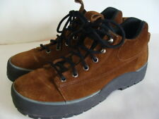 COLE HAAN Vintage Brown Suede Leather Hiking Trail Shoes Boots 8 1/2 N
