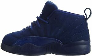 NEW NIKE JORDAN 12 RETRO BT BLUE/WHITE TODDLER SIZE 6C (850000 400)