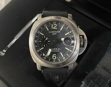 "Panerai Luminor PAM 89 00089 GMT 44mm ""D"" Series Watch -Titanium -Boxes/Papers-"