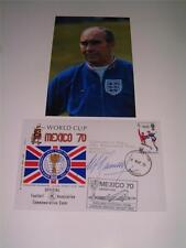 England 1970 World Cup Alf Ramsey Signed (Printed) Photograph Set