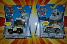 Paw Patrol True Metal all new look Everest  and Tracker set