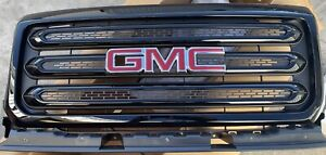 2015-2020 GMC Canyon Front Grill 84193030 23321754 Black with GMC Emblem OEM GM