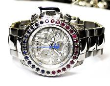 Invicta 16743 Meteorite Dial Sapphire Ruby Diamond 27J 500m Quartz 47mm Watch LE