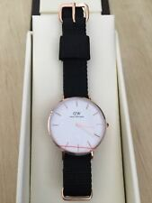 NEW DANIEL WELLINGTON Cornwall 32mm Rose Gold Classic Petite White Women's Watch