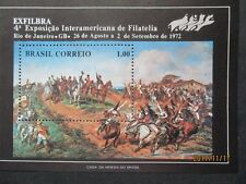 Brazil 1972 Exfilbra - Stamp Exhibition Mini Sheet. MNH.