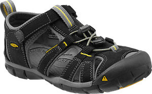 Keen TODDLER SEACAMP II CNX Sandale Trekking Gr.24-31 Black / Yellow