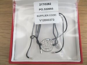 Truth Kalachakra Sterling Silver Protection Cord Bracelet Brand New in Box