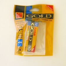 Ancienne Pellicule photo 110 - Kodak Gold Ultra-Péremption 2001-24 poses blister