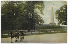 Phoenix Park and Wellington Monument Dublin postmark 1907 Hartmann