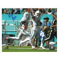 NFL Miami Dolphins Albert Wilson #15 High Five Autographed Photograph Signed