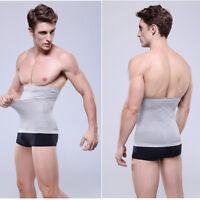 Men Abdomen Slimming Girdle Belt Body Shaper Sculpt Waist Wrap Tummy Underwear