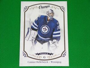 2015-16 Upper Deck Champ's Connor Hellebuyck Winnipeg Jets Rookie #264 RC