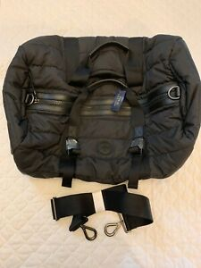 NWT Polo Ralph Lauren Rare Quilted Puffer Duffel Bag Overnight Black Unique $398