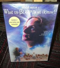 WHAT THE BLEEP DO WE KNOW!? DVD, WITH MARLEE MATLIN, JOURNEY TO SECRETS OF LIFE