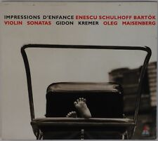 ENESCU: Impression d' Enfance, Gidon Kremer Violin Sonatas Bartok ECM NM