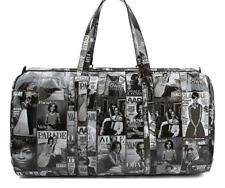 Duffel Bag Michelle Obama Magazine Print Barak Obama Shoulder Bag Crossbody BKWT