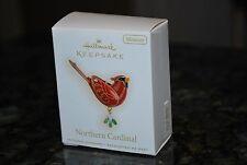 2009 Hallmark Northern Cardinal The Beauty of Birds Miniature Keepsake Ornament