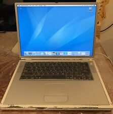 Apple PowerBook G4 15-inch Titanium Late 2001 667MHz (M8363LL/A) Vintage Laptop