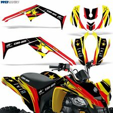 Graphic Kit CANAM DS 250 ATV Quad Decals Wrap Can-Am Accessories DS250 Parts R S