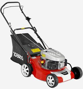 "Cobra M46C 18""/46cm Push Lawn Mower New Petrol Grass Lawnmower UK FREE DELIVERY"