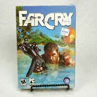 Far Cry FARCRY PC 5 CD-ROM Game Big Box 2004 Ubisoft No Manual
