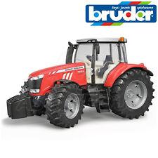 Bruder Toys 03046 Pro Series MASSEY FERGUSON 7624 Tractor Toy Model LARGE 1:16