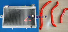 FIT Honda TRX250R TRX250 1986-1987 86 87 Aluminum Radiator + hose RED/BLUE/BLACK