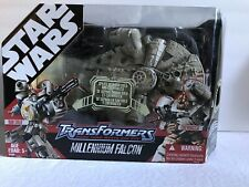 Hasbro Star Wars Transformers Millennium Falcon Han Solo & Chewbacca, NEW IN BOX