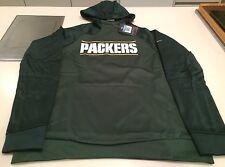 Green Bay Packers Suéter de logotipo de oro de banda rendimiento Medio con Capucha de la NFL