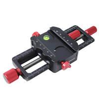 Macro Focusing Rail Slider Close-up Shooting Camera Bracket for Tripod Ballhead