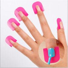 26 PCs Nail Polish Glue Model Spill Protector Proof Manicure Tools DIY