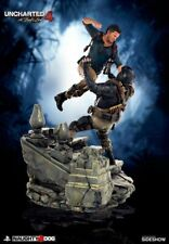 SIDESHOW Uncharted 4 Nathan Drake Premium Statue By Sony Interactive Video Game