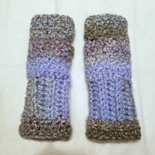Unique Handmade Crochet Fingerless Gloves/Mittens Warm - NEW