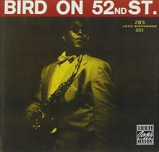Charlie Parker Bird On 52nd Street Live CD NEW SEALED Jazz Remaster Miles Davis