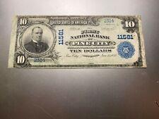 New listing Pine City, Minnesota 1902 National Note. Charter 11581. Rare!