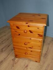Three Drawer Pine Chest Of Drawers - Solid Pine and Pine Effect Mix