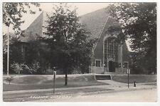1949 BIRMINGHAM MICHIGAN RPPC Real Photo Postcard BALDWIN LIBRARY Detroit MICH