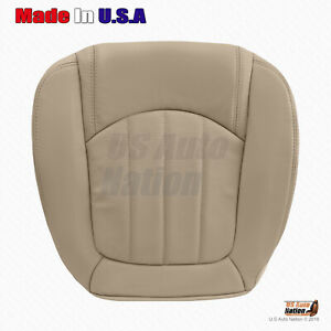 2008 -2012 Buick Enclave Passenger Side Bottom Perforated Leather Seat Cover Tan