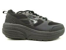 Gravity Defyer Comfort Fit Black Slip Resistant Lace Up Sneakers Shoes Womens 11