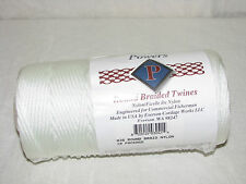 #36 Round Braid Nylon Twine Rope, 540 FT, 360 LBS Tensile, Fish Net Repair, USA