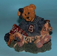 "Boyds Bears #2268"" Bailey The Cheerleader"" Very retired, sports, school 1995 NIB"