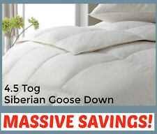 4.5 TOG SIBERIAN GOOSE DOWN Hotel Quality Luxury **Summer Lightweight** Duvet
