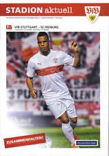 Programm Stadionheft 13/14 VfB Stuttgart SC Freiburg Stadion Aktuell 5.4.14