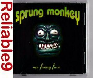 Sprung Monkey - Mr.s funny face CD 13 tracks Rare- 1998 Shock- Made in Australia