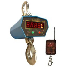 Crane Scale 5000 lb x 1 lb, Dwp-C2X Professional crane scale heavy duty,Remote