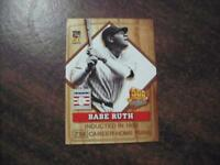 "BABE RUTH 2001 TOPPS "" POST 500 HR CLUB BASEBALL CARD #1  YANKEES RARE"