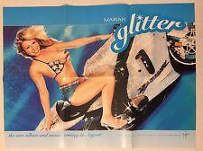 Mariah Carey Glitter Soundtrack Movie Promo Only Poster 18X24 Bikini 2001